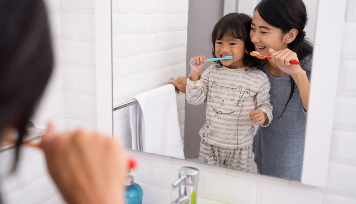 Many people are not brushing for the required two minutes, two times each day.