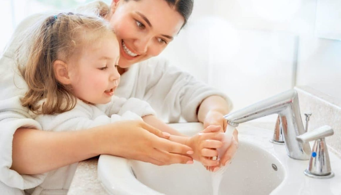 Handwashing for oral health