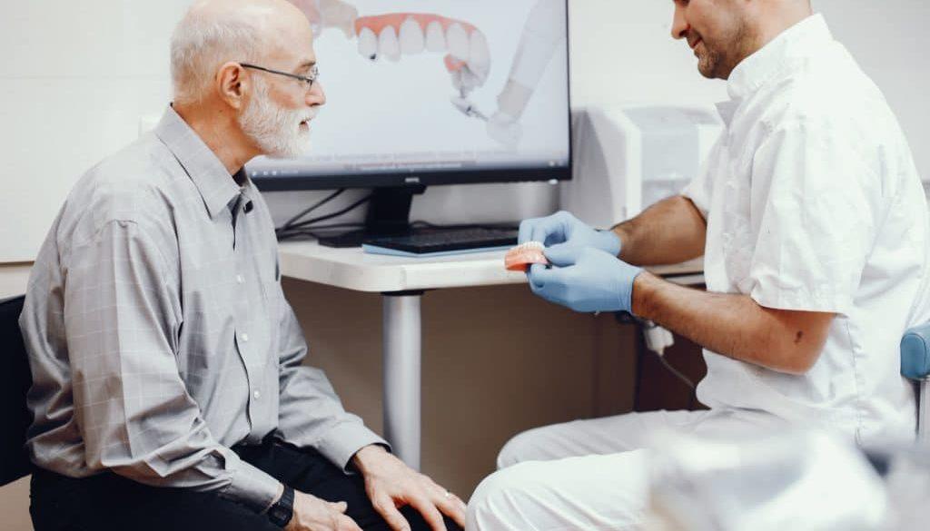 dentures and dental implants